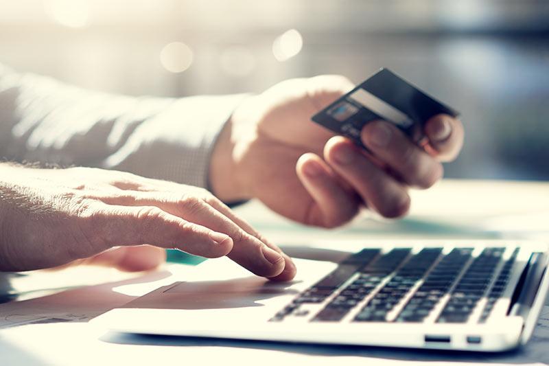 Kreditkarte-PayPal-Zahlung